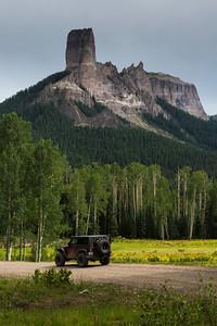 Chimney Rock near Owl Creek Pass (very easy, 2WD)