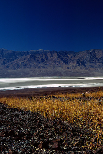 Looking west across Death Valley on a clear winter day.