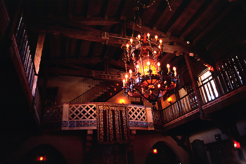 The interior of Scotty's castle is more reminiscent of Europe than the wild west.