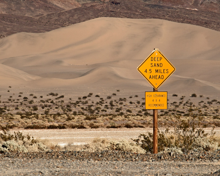 <em>Understatement</em> Ibex Dunes, Death Valley National Park Copyright 2007, Ken Walsh