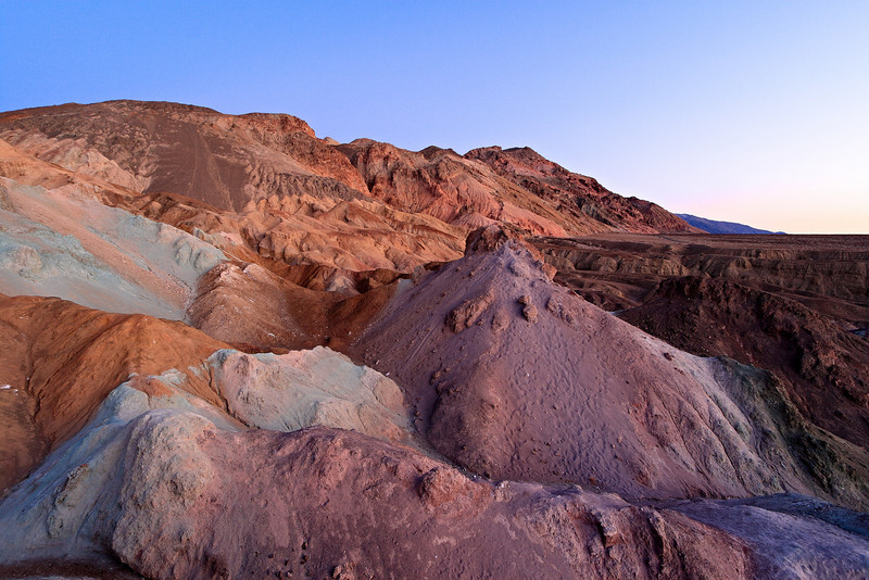<em>Artist's Pallette Formation</em> Death Valley National Park Copyright 2007, Ken Walsh