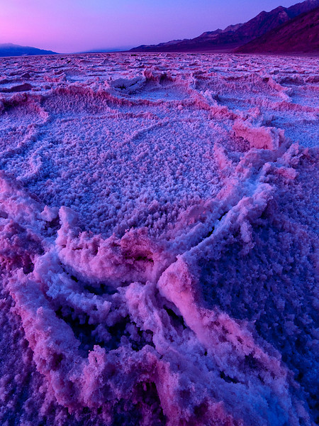 <em>Badwater Sunset</em> Copyright 2009 Ken Walsh