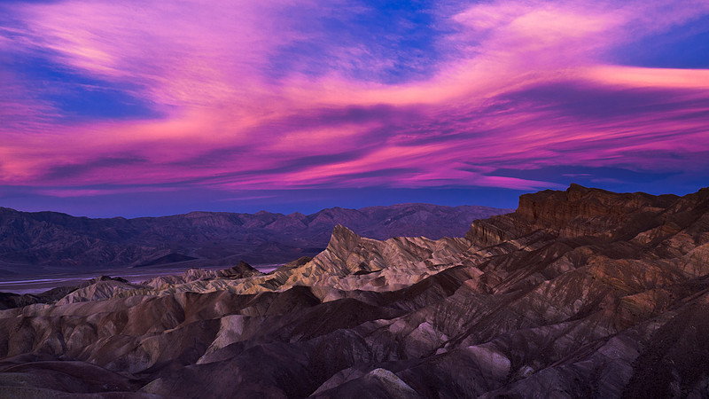 <em>Zabriske Point Velvia</em> Copyright 2010 Ken Walsh