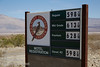 Panamint Springs Resort sign with roadrunner logo and fuel prices (about 50% higher than Sacramento). (3/17/2013, Panamint Springs Resort, Death Valley Trip)<br /> <br /> EF24-105mm f/4L IS USM @ 58mm f/8 1/250s ISO125