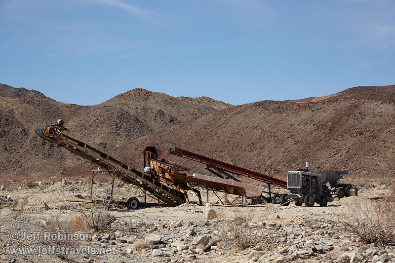 Westerly view of old mining equipment. (3/17/2013, Panamint Springs Resort, Death Valley Trip)<br /> <br /> EF24-105mm f/4L IS USM @ 67mm f/9 1/320s ISO125