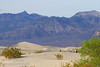 People sit and lay on the nearby sand, with the larger Mesquite Flat Sand Dunes beyond, and the Grapevine Mountains of the Amargosa Range in the background. (3/19/2013, Mesquite Flat Sand Dunes, Death Valley NP)<br /> EF100-400mm f/4.5-5.6L IS USM @ 105mm f/8 1/500s ISO400