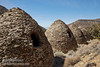 A row of the charcoal kilns from the back side, including their windows. Each beehive-shaped kiln is about 25 feet high. (3/19/2013, Charcoal Kilns, Wildrose Canyon, Death Valley NP)<br /> EF24-105mm f/4L IS USM @ 28mm f/11 1/200s ISO200