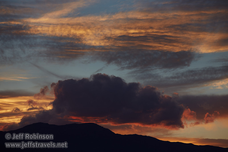 Sunset clouds over the Panamint Range. (3/20/2013, Titus Canyon, Death Valley NP)<br /> EF70-200mm f/2.8L IS II USM @ 200mm f/5.6 1/160s ISO200