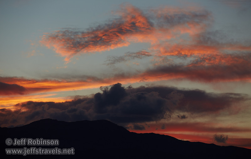 Sunset clouds over the Panamint Range. (3/20/2013, Titus Canyon, Death Valley NP)<br /> EF70-200mm f/2.8L IS II USM @ 190mm f/5.6 1/125s ISO200