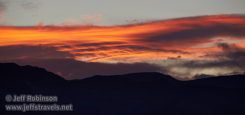 Sunset clouds over the Panamint Range. (3/20/2013, Titus Canyon, Death Valley NP)<br /> EF70-200mm f/2.8L IS II USM @ 200mm f/5.6 1/160s ISO320