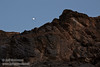 The moon over the top of the shaded cliff wall. (3/21/2013, Titus Canyon, Titus Canyon Road, Death Valley NP)<br /> EF24-105mm f/4L IS USM @ 70mm f/8 1/80s ISO400