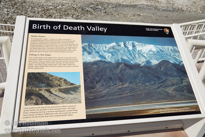 """Birth of Death Valley"" sign. (3/22/2013, Badwater Basin, Death Valley NP)<br /> EF24-105mm f/4L IS USM @ 32mm f/10 1/200s ISO100"