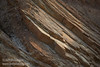 Side view of the rock layers in the canyon wall angled up at around a 45 degree angle. (3/22/2013, Golden Canyon, Death Valley NP)<br /> EF24-105mm f/4L IS USM @ 105mm f/5 1/160s ISO200