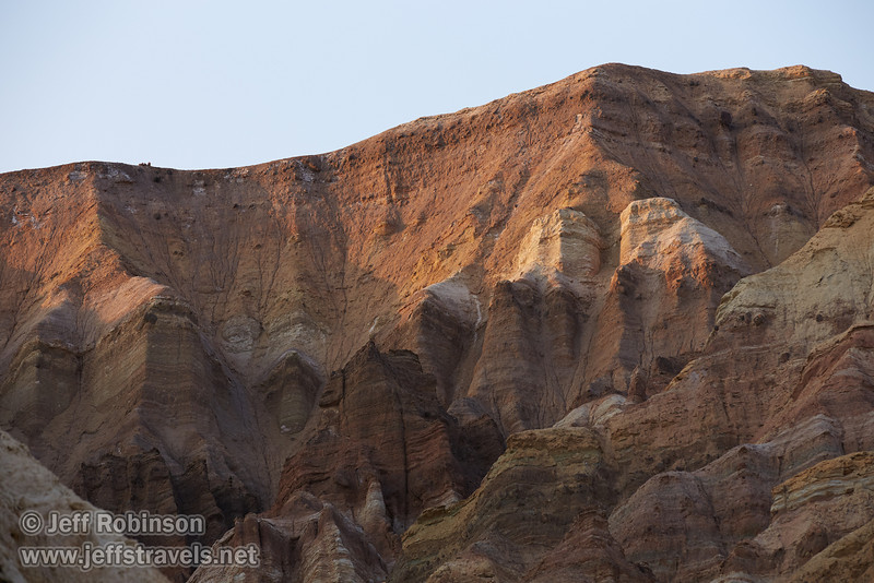 The last sun catches the upper canyon walls with their desert hues. (3/22/2013, Golden Canyon, Death Valley NP)<br /> EF70-200mm f/2.8L IS II USM @ 165mm f/6.3 1/250s ISO400