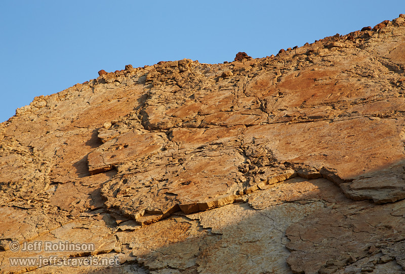 View of the layered rock that makes up the canyon wall. (3/22/2013, Golden Canyon, Death Valley NP)<br /> EF24-105mm f/4L IS USM @ 95mm f/10 1/200s ISO400