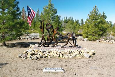 Veterans Memorial Sculpture Garden (2008)