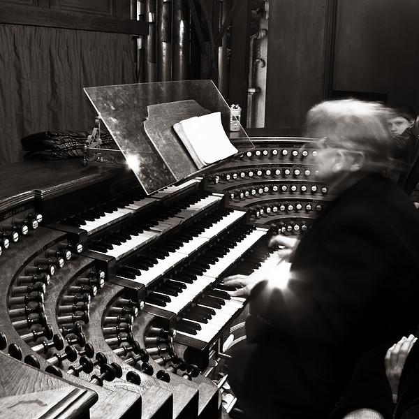<em>The Organist</em> Daniel Roth plays the organ at St. Sulpice Copyright 2011 Ken Walsh