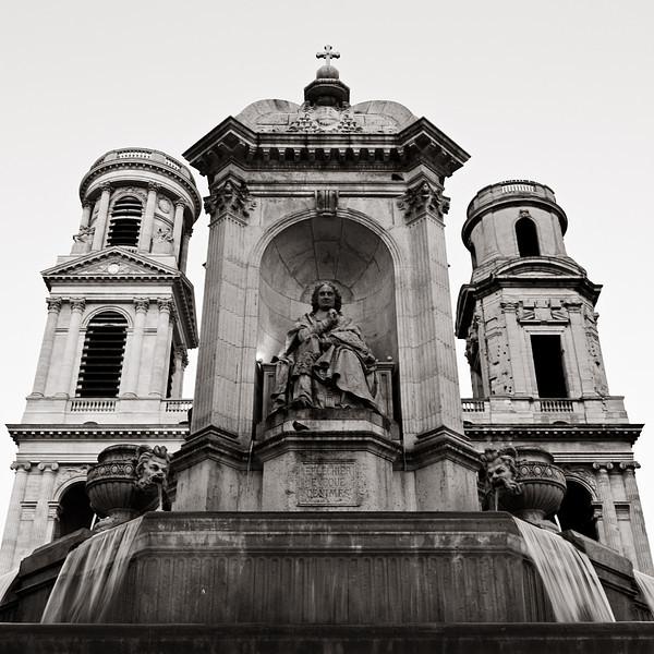 <em>Place Saint Sulpice</em> Copyright 2011 Ken Walsh
