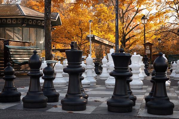 Jeux d'échecs géants