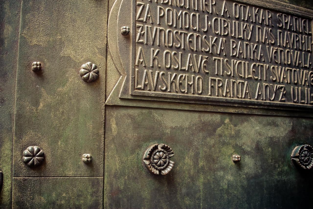 Door to St. Vitus Cathedral