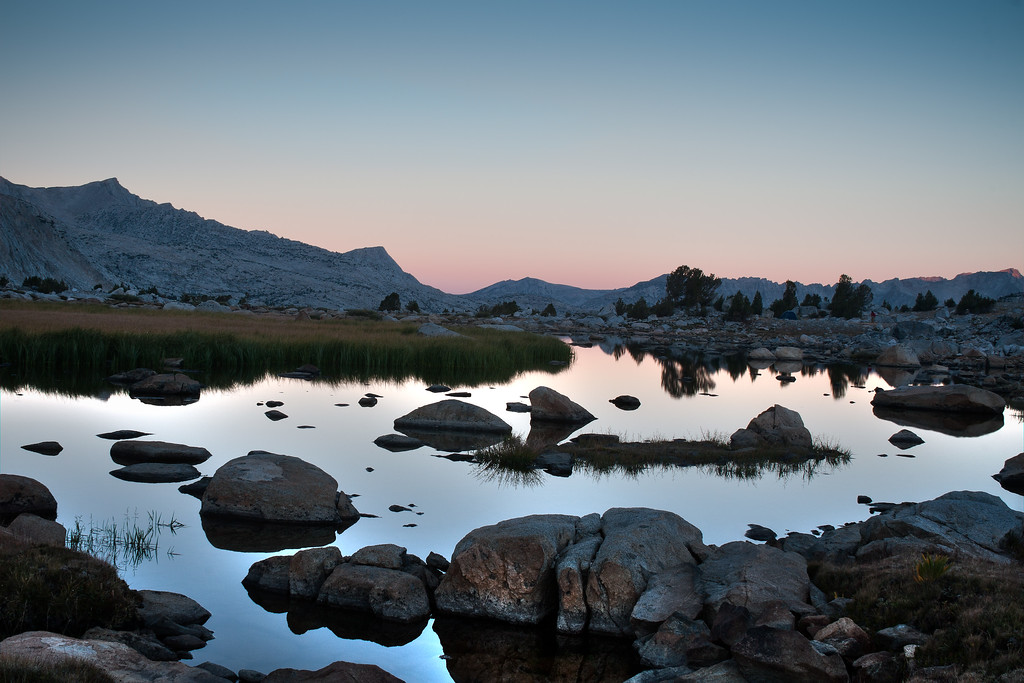 Sierra Sunrise Near Piute Pass