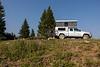 Campsite near Bison Lake