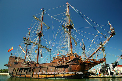 Ponce de Leon Replica Ship