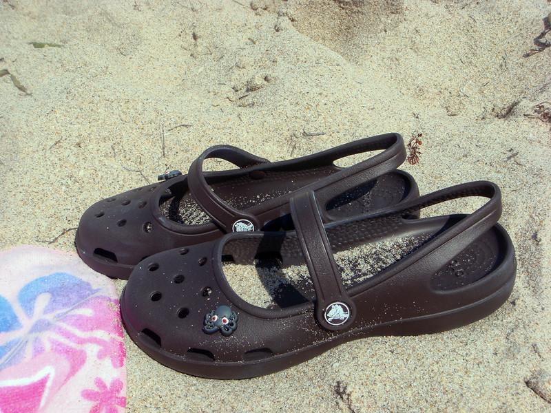 My crocs. I needed beach shoes. And I like octopi.