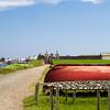 Fort Louisbourg on Cape Breton Island, Nova Scotia.