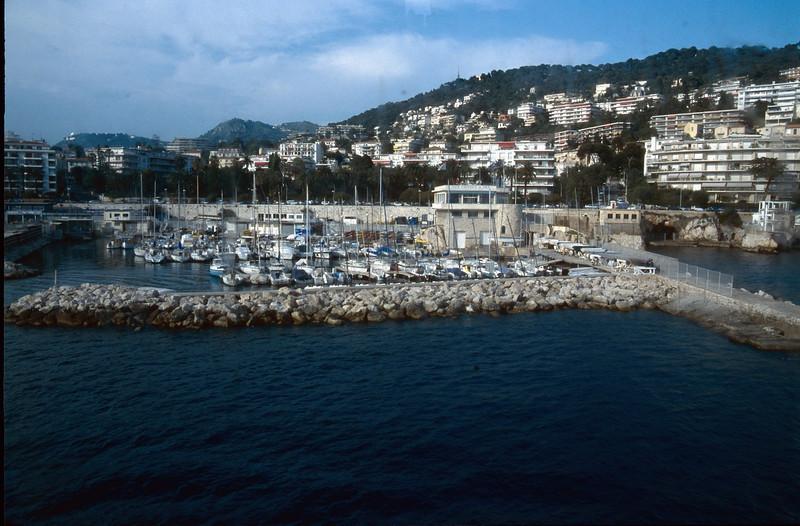 habour of Bastia