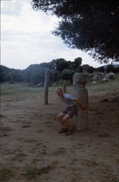 site with Menhirs , Vilitosa