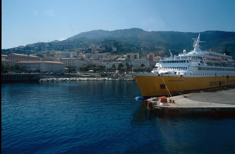 Bastia harbour (Bastia - Nice)