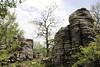 limestone rocks near the Vikos Gorge, Monodendri-Kipi