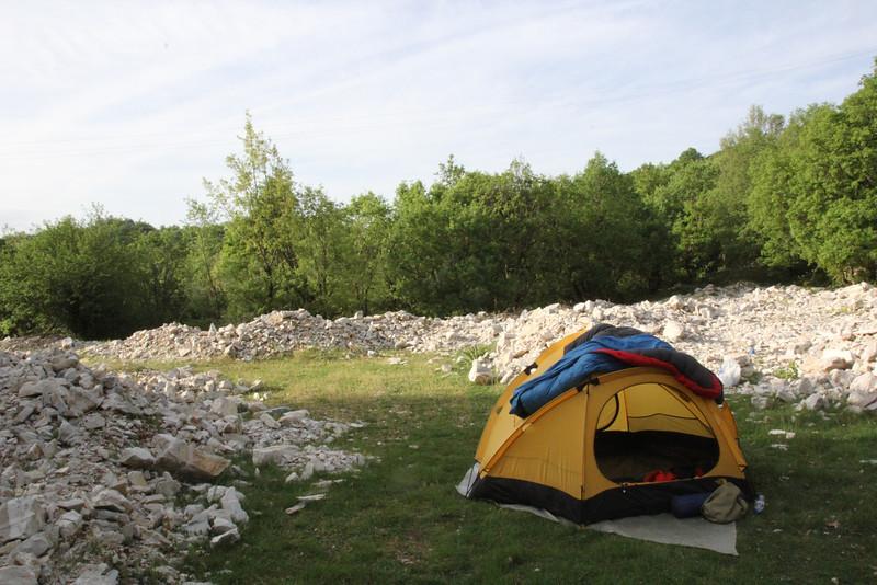 Camp near Monodendri