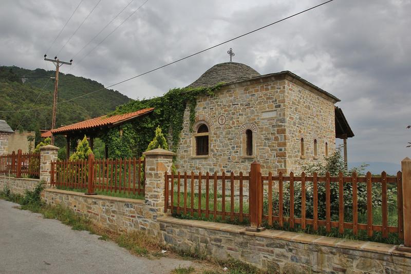 Greek Orthodox Church Osiou Dionisiou NW of Litohoro