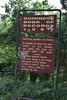 sign, 900m deep Vikos Gorge, near Monondendri, Vikos Gorge