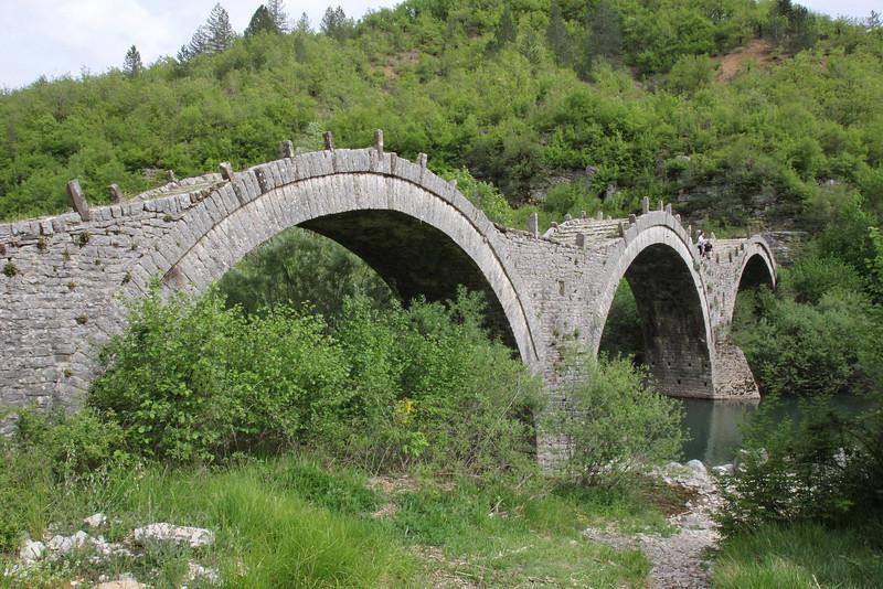 3 arched bridge at Kipi, 30km N of Ioannina