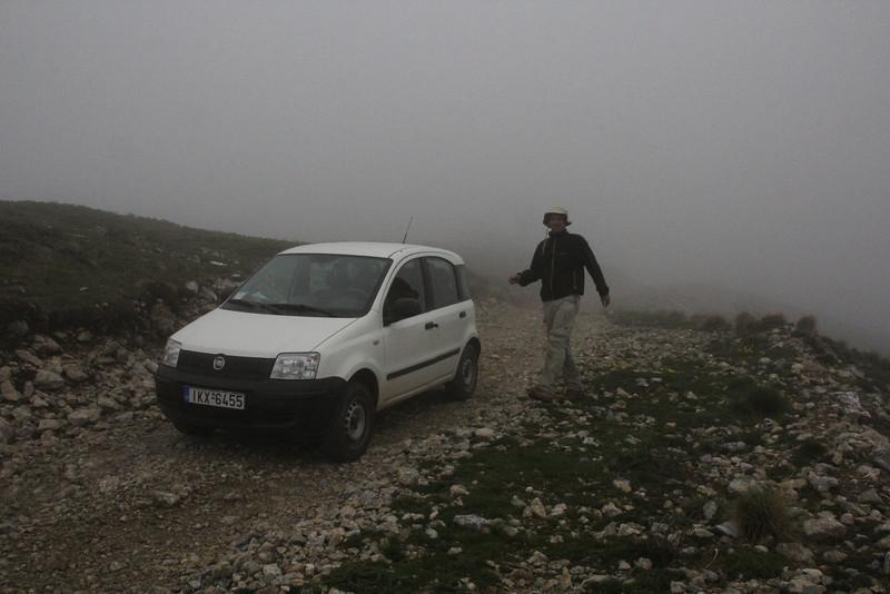 Fog at Mount Vermion 2052m (K)