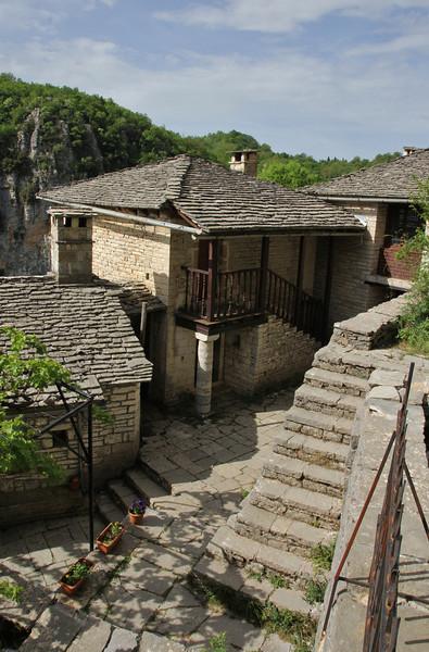 Monastery at Monondendri, 1350m, Vikos Gorge