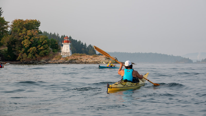 Gulf Islands Sea Kayaking - Aug 2018