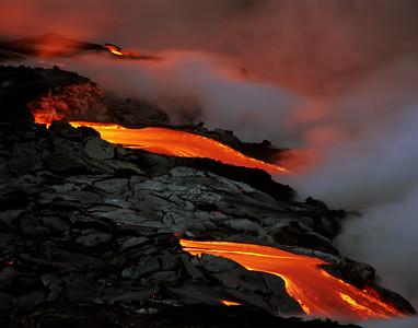 Kilauea Flows