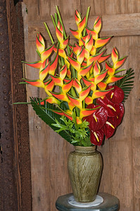 Fresh Flower Arrangement - Mama's Fish House - Paia - Maui, HI