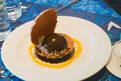 Tahitian Black Pearl Dessert - Mama's Fish House - Paia - Maui, HI