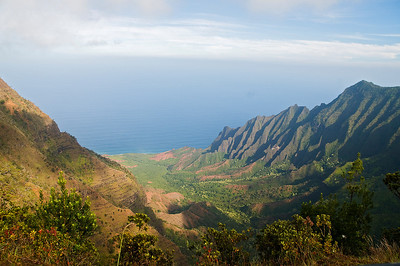 Na Pali Coastline - Kokee State Park - Kauai, HI