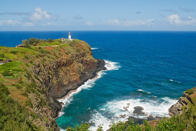 Lighthouse - Kilauea National Wildlife Refuge - Kauai, HI