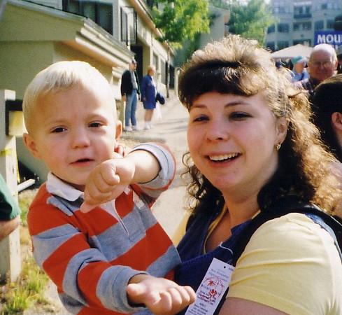 Highland Tyler and Mom