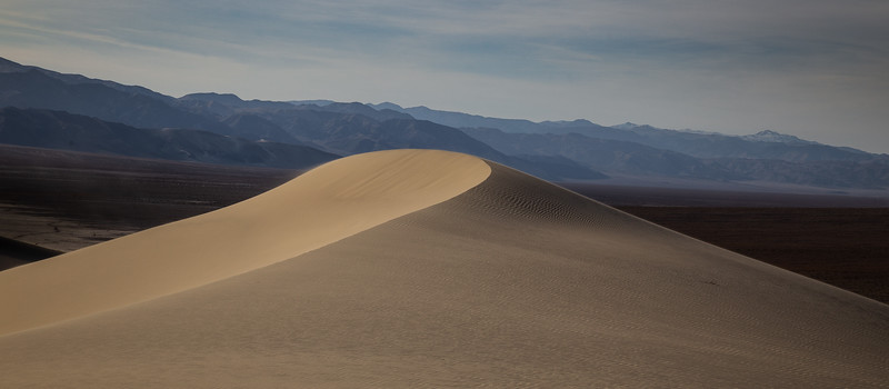 Isolated Dune, Eureka Dunes–Death Valley NP