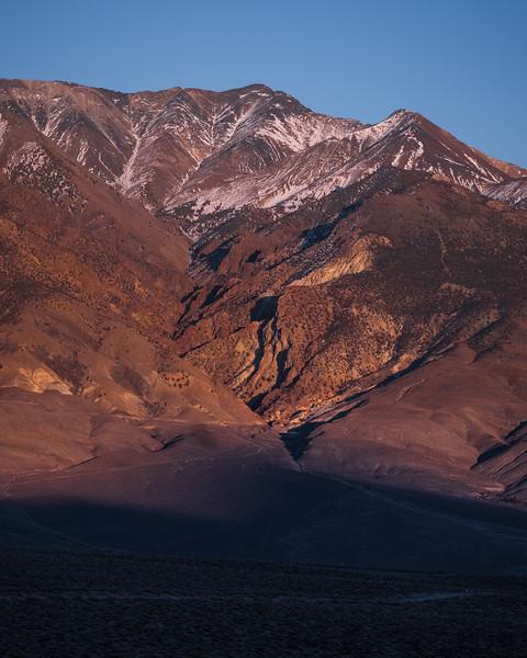 Waning Light on the White Mountains