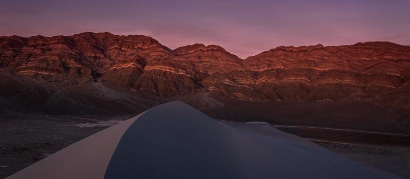 Last Change Range From Eureka Dunes, Death Valley National Park