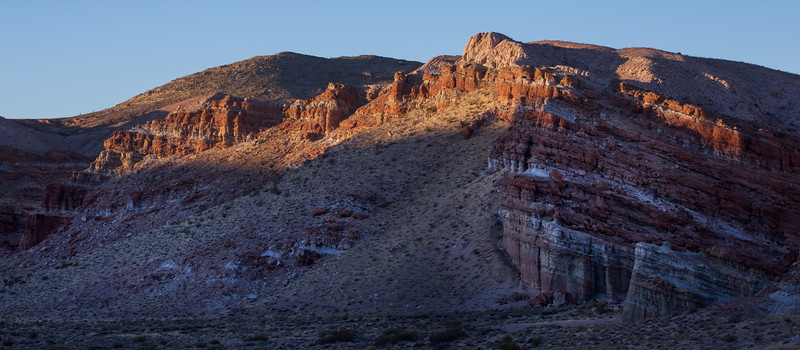 First Light at Red Rock Canyon